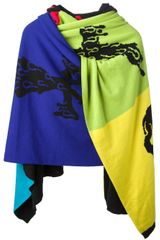 Jeremy Scott Hooded Scarf - Lyst