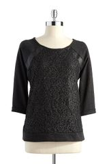 Jessica Simpson Three quartered Sleeved Shirt - Lyst