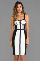 Rebecca Minkoff Rtw Clarissa Dress in Ivory - Lyst
