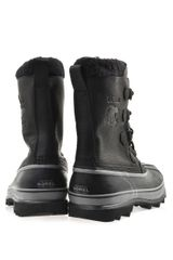 Sorel Caribou Leather and Rubber Boots - Lyst