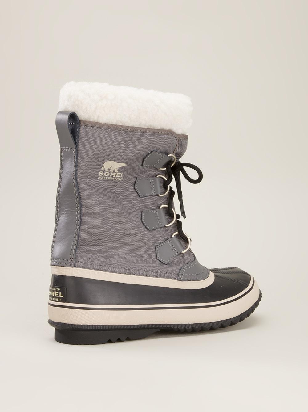 Sorel Winter Carnival Boot in Gray (grey)   Lyst