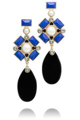 Tory Burch Delphine Statement Earring - Lyst