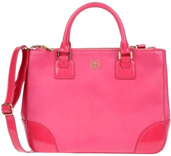 Tory Burch Large Leather Bag - Lyst