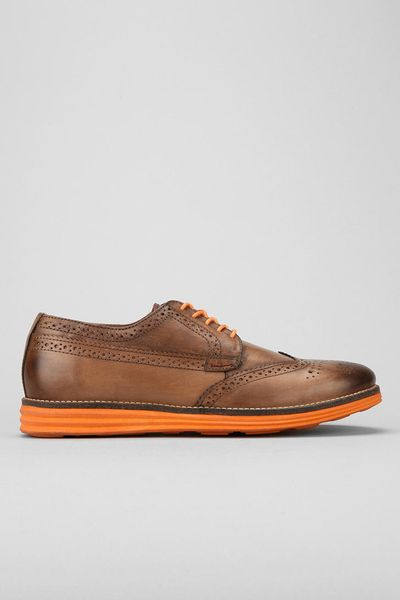 Urban Outfitters Ben Sherman Zito Brogue Oxford Shoe In Brown For Men (TAN) | Lyst