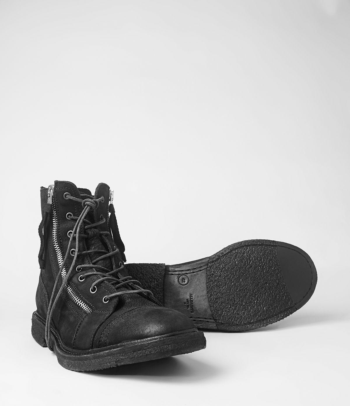 Lyst Allsaints Rutledge Boot In Black For Men