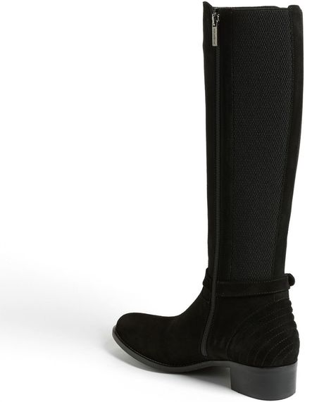 aquatalia by marvin k orso boot in black black suede lyst