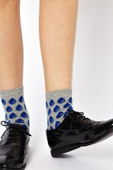 Asos Raindrops Ankle Socks - Lyst