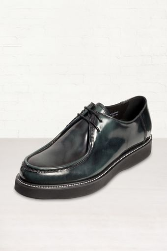 Church's Imogen Dark Green Leather Creepers - Lyst