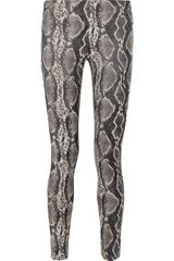 Donna Karan New York Modern Icons Stretchjacquard Legging Style Pants - Lyst