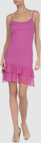 Dress Gallery Short Dress - Lyst