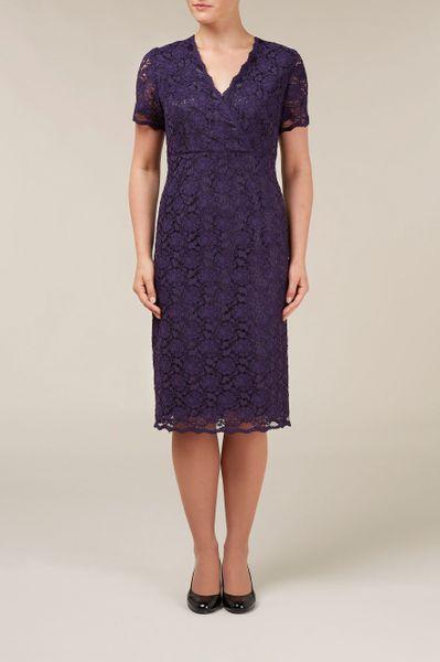 Womens Purple Dress Shirt