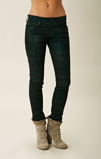 Elizabeth And James Debbie Camo Jean - Lyst