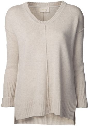 Giada Forte Cashmere Scoop Neck Sweater - Lyst