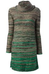 Iceberg Sweater Dress - Lyst