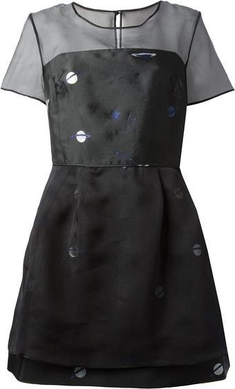Lulu & Co Galaxy Dress - Lyst