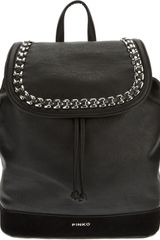Pinko Grancassa Backpack - Lyst