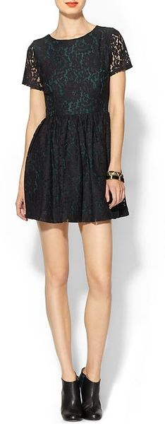 Sam & Lavi Havana Dolce Vida Floral Lace Dress - Lyst