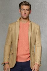 Polo Ralph Lauren Custom Herringbone Sport Coat - Lyst