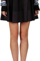 Proenza Schouler Faux Wrap Mini Skirt - Lyst