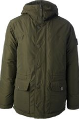 Stone Island Hooded Jacket - Lyst