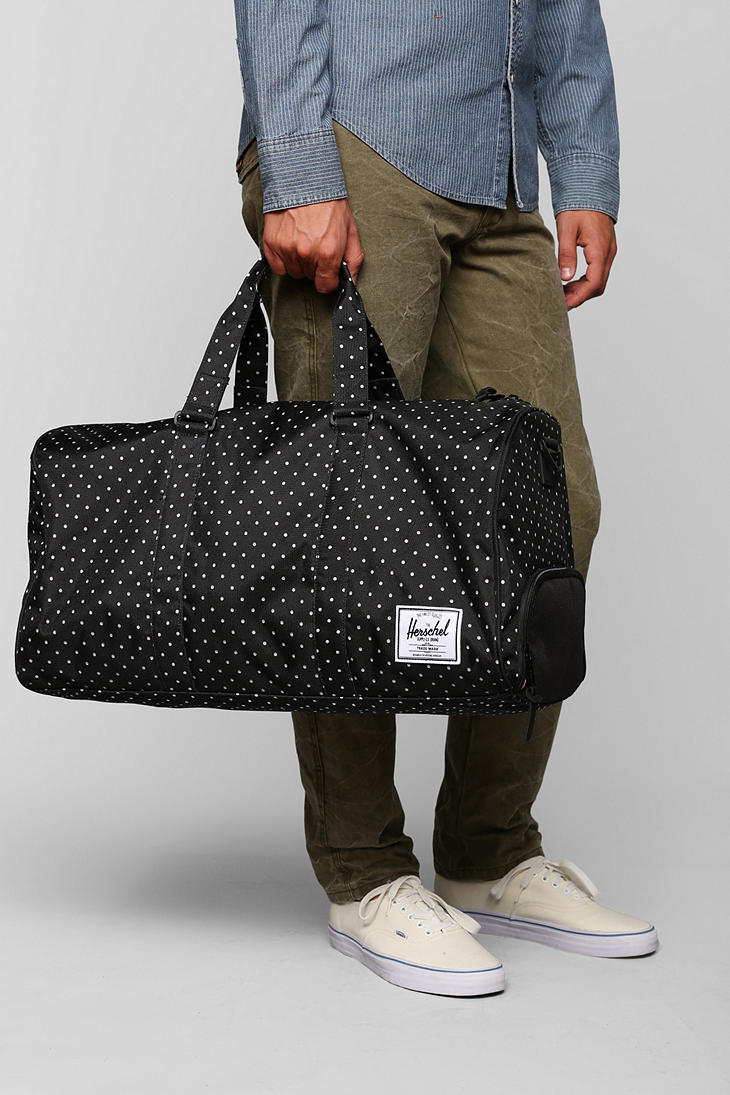Urban outfitters Herschel Supply Co Novel Polka Dot Weekender Bag ...