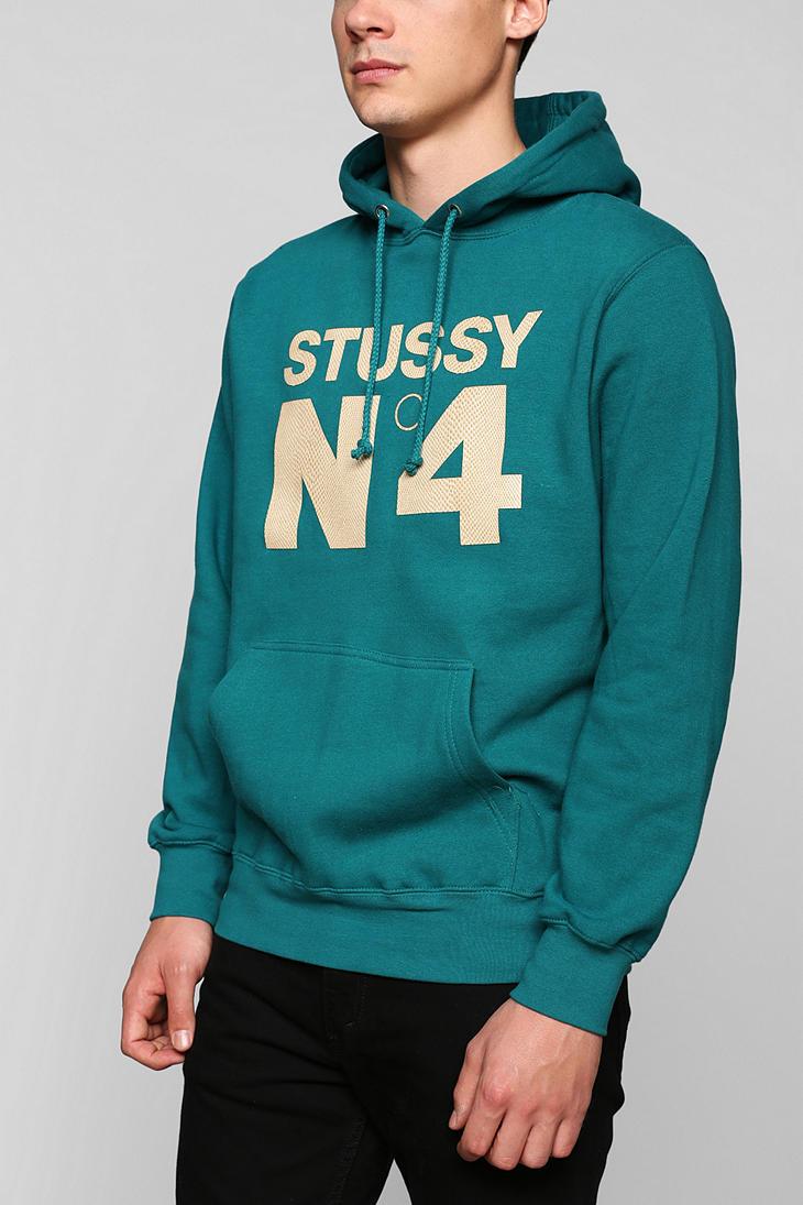 Urban outfitters Stussy Snake No 4 Pullover Hoodie Sweatshirt in ...