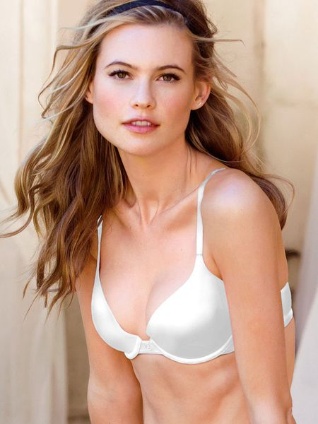 Victoria's Secret Perfect Coverage Bra in White