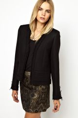 Zadig & Voltaire Blazer with Raw Edges - Lyst