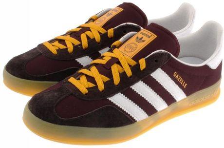 Adidas Originals Gazelle Og Maroon/Yellow