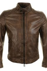 Belstaff Beckland Cafe Jacket Antique Bronze