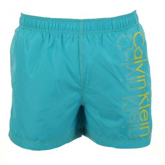 Calvin Klein One Placement Swim Shorts Bird - Lyst