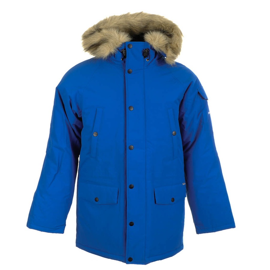 carhartt anchorage parka jacket imperial in blue for men. Black Bedroom Furniture Sets. Home Design Ideas