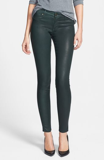 Cj By Cookie Johnson Joy Coated Stretch Denim Leggings - Lyst