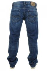 Diesel Larkee 008xr Jeans Dark Denim - Lyst