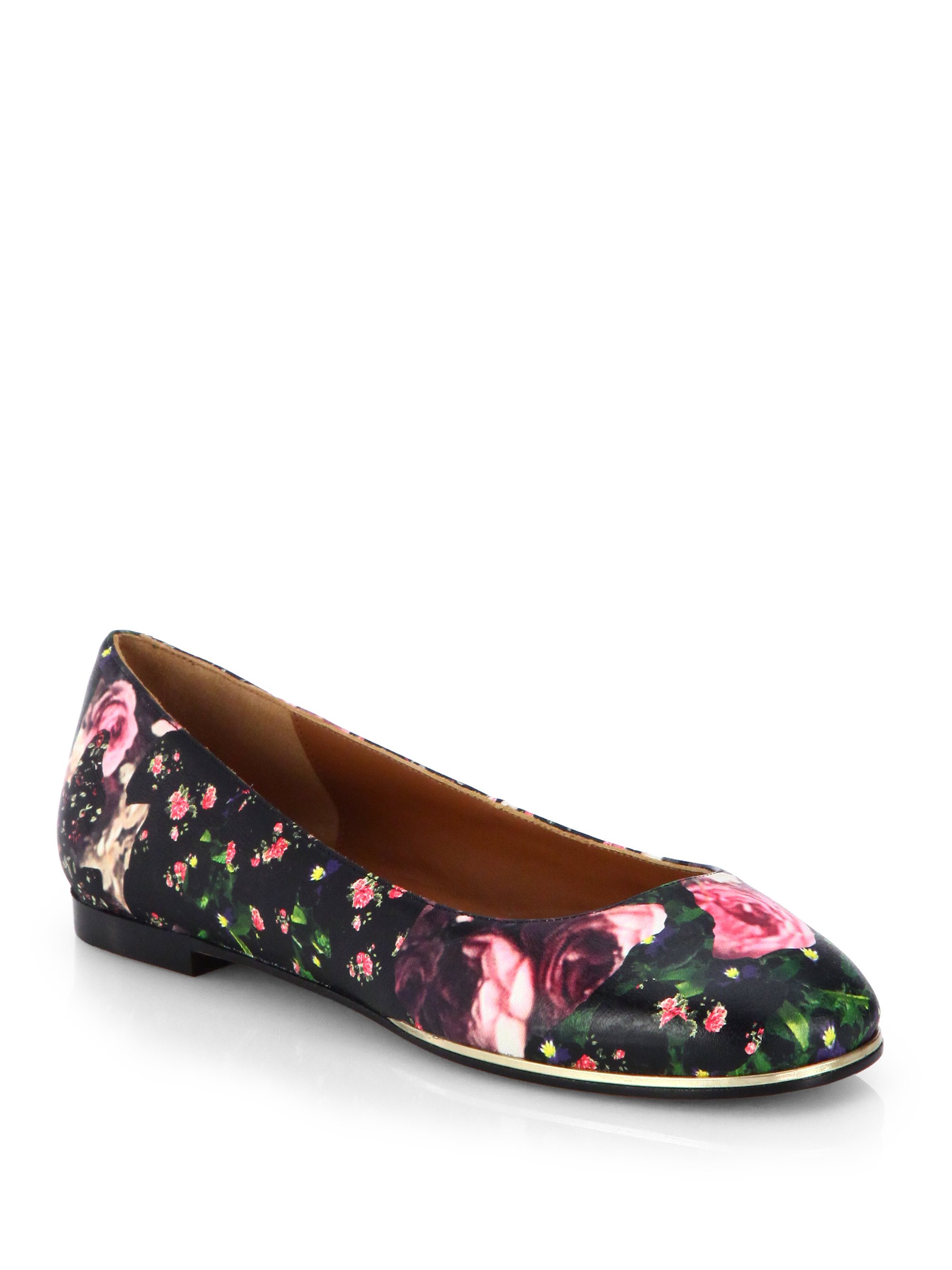 Givenchy Floral Ballet Flats prices cheap price pre order for sale explore online 5lRnbG