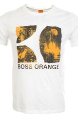Hugo Boss Orange T Shirt - Lyst