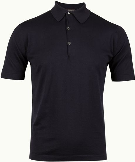 John Smedley Milo in Blue for Men (Navy) - Lyst