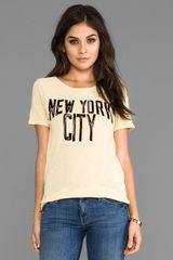 Junk Food New York Lovers Lane Tee  - Lyst