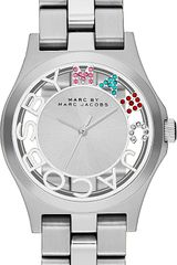 Marc By Marc Jacobs Henry Skeleton Stainless Steel Watch - Lyst
