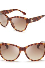 Michael Kors Vivian Cat Eye Sunglasses - Lyst
