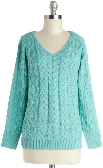 ModCloth Smiles For Miles Sweater - Lyst