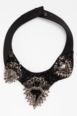 Natasha Couture Collar Necklace - Lyst