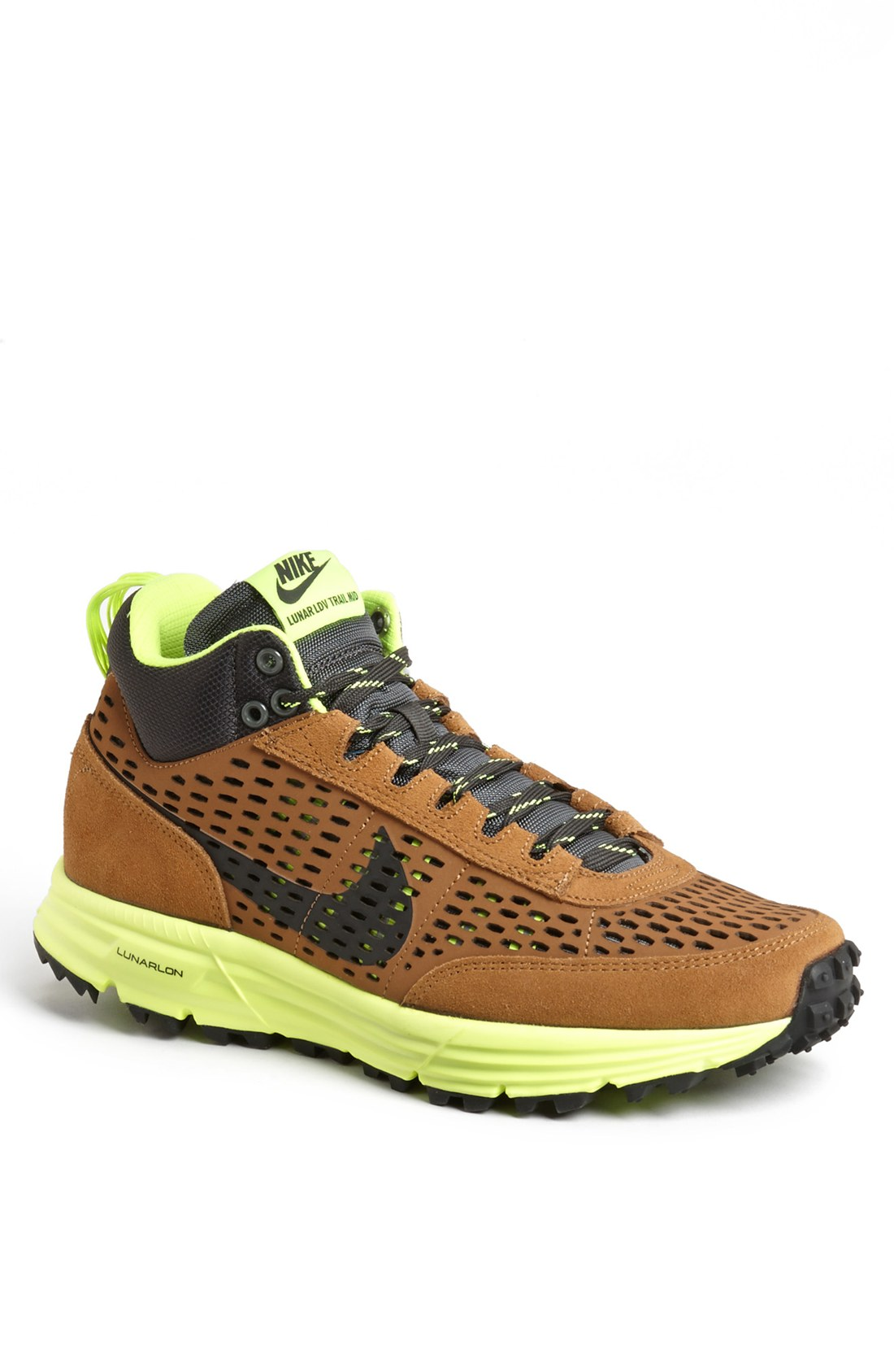 nike lunar ldv sneaker boot in brown for ale brown