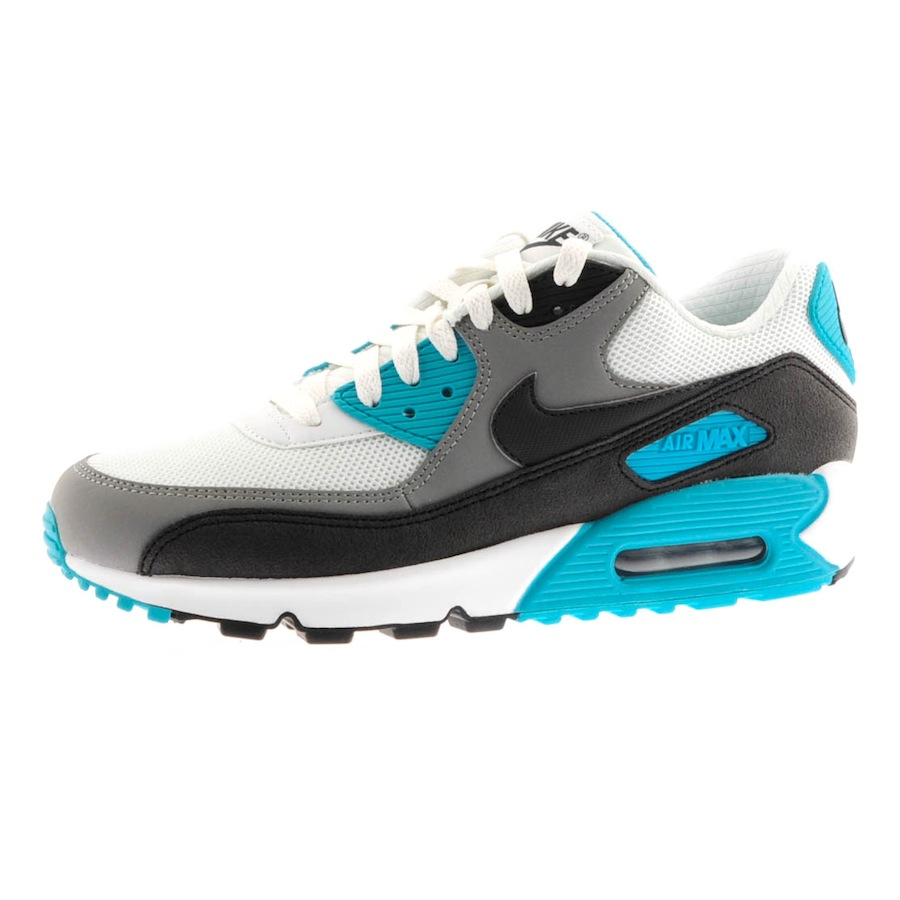 nike air max 90 essential trainers summit in white for men. Black Bedroom Furniture Sets. Home Design Ideas