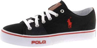Ralph Lauren Cantor Low Ne Canvas Trainers - Lyst