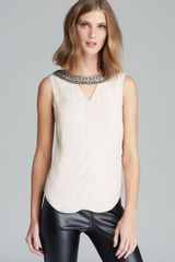 Twelfth Street by Cynthia Vincent Top Embellished - Lyst