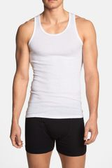 Michael Kors Cotton Modal Tank Top - Lyst