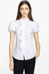 RED Valentino Stretch Poplin Blouse