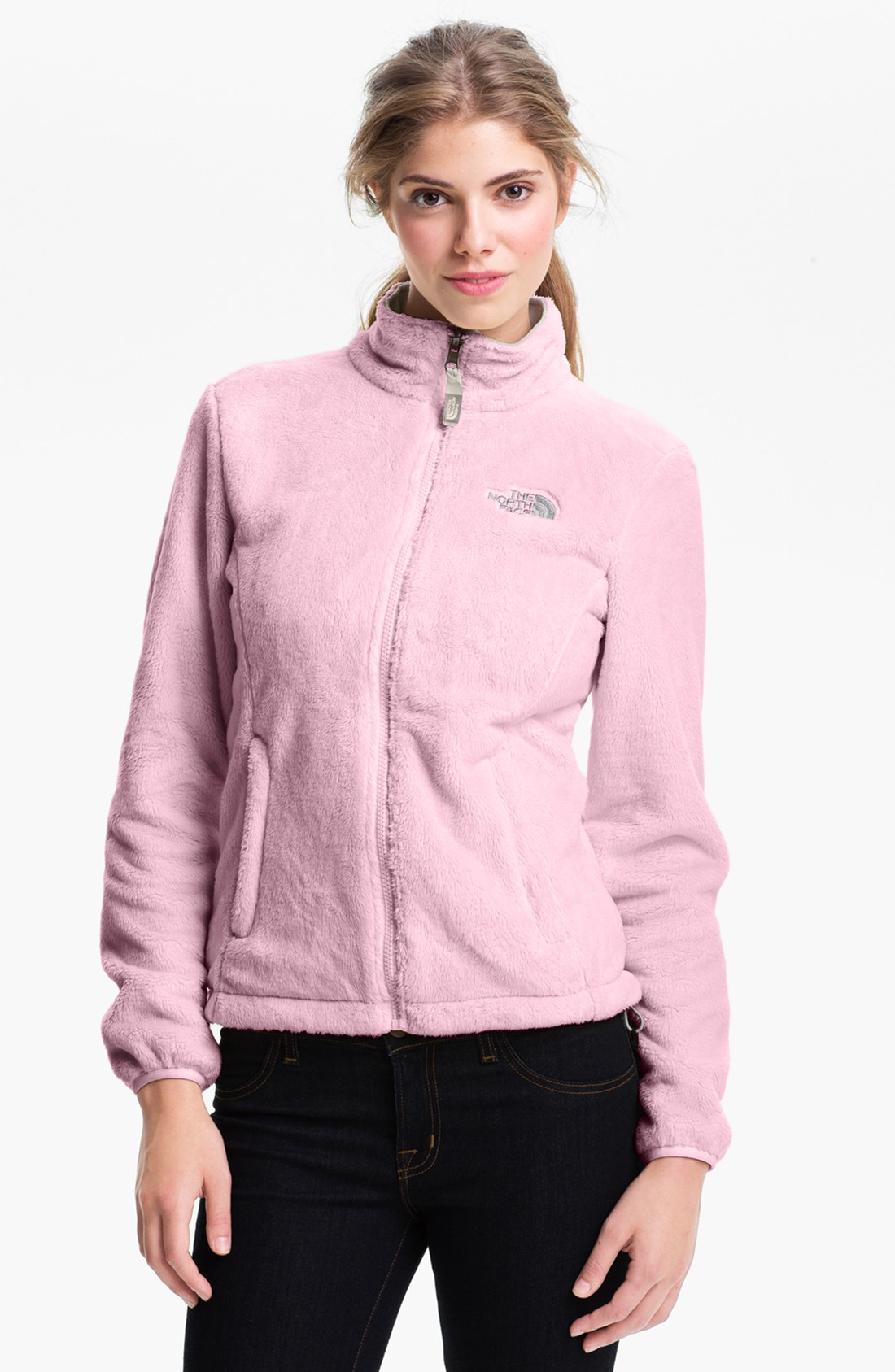 The north face Osito Fleece Jacket in Pink | Lyst