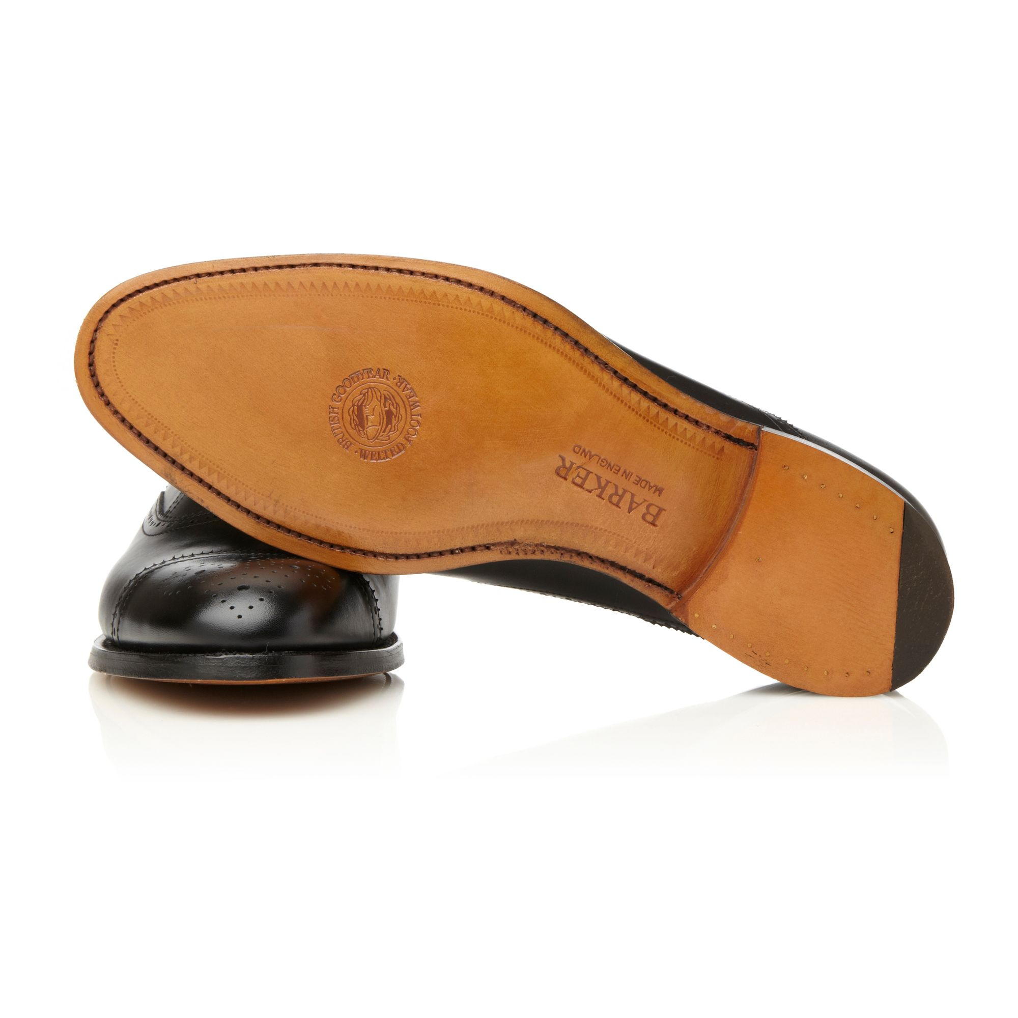 Varick Free Black Leather Clarks Shoes